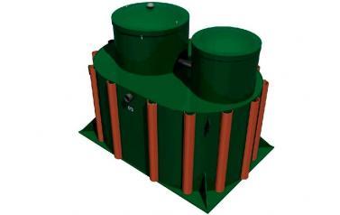 Система автономной канализации Alta Bio 7 UV+